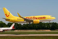 D-AHXA (PlanePixNase) Tags: aircraft airport planespotting haj eddv hannover langenhagen tui tuifly boeing 737700 b737 737