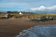 (Neil Bryce) Tags: anglesey newborough wales llanddwyn island beach sand sunset religion retreat tide cottage