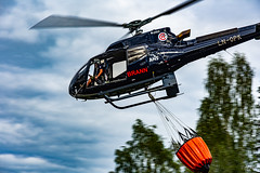 Forest fire helicopter I (thore.bryhn) Tags: helicopter forestfire wildfire airbus bambi bucket