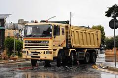 Twist & Turn (ekawrecker) Tags: truck lorry camion benne kipper 8x4 cabtech malta maltese 380ati