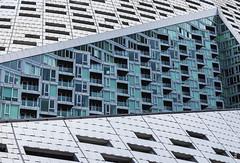 "Via 57 West, South Facade ""Slash"" (rjseg1) Tags: bjarkeingelsgroup via57 via57west newyork newyorkcity architecture modernism slash ingels"