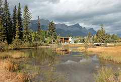 Walking along Policeman's Creek (JB by the Sea) Tags: canmore alberta canada september2019 rockies rockymountains canadianrockies policemanscreek policemancreek