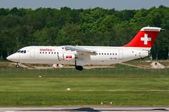 HB-IYW (PlanePixNase) Tags: aircraft airport planespotting haj eddv hannover langenhagen swiss avro 100 rj100 bae
