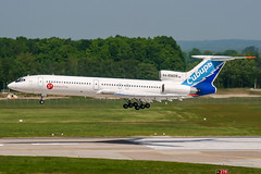RA-85628 (PlanePixNase) Tags: aircraft airport planespotting haj eddv hannover langenhagen tupolev tu154 t154 s7 sibir
