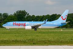 D-ATUC (PlanePixNase) Tags: aircraft airport planespotting haj eddv hannover langenhagen boeing 737800 737 b738 tui tuifly hapaglloyd hapagfly