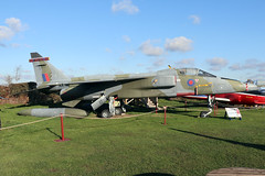 XX763 (wiltshirespotter) Tags: bournemouthaviationmuseum hurn sepecat jaguar