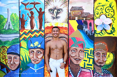 IMG_3024hh (Defever Photography) Tags: philippines davao pinoy mindanao pinoymalemodel graffiti mural chest hunk moreno graffitiwall smile