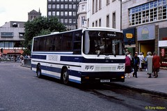 DXC330 Tayside 232 originally registered B832VSR (theroumynante) Tags: dxc330 tayside 232 leyland tiger reeve burgess dundee scotland bus buses singledeck stepentrance