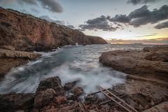 Punta Galera (Miguel Martin Ibiza) Tags: sunset beach sea seascape ibiza free wild wildness nikon nikond750 longexposure longexposition haida hittech myfocus spain baleares ibiza2019 manfrotto
