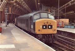 45128 St Pancras 13th May 1983 (clivepsmithmarch1960) Tags: 45128 stpancras