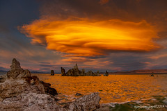 Lenticular (Ross Forsyth - tigerfastimagery) Tags: calfornia tufa monolake mono lake clouds sunset colour lenticularclouds lenticular rocks dream mothernature roadtripusa2019 roadtrip road trip usa 2019 canon