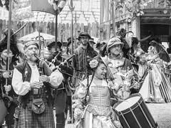 Everyone Loves a Parade (clarkcg photography) Tags: blackandwhite bw blackwhite parade renaissance renaissancefestival