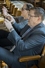 Capturing the moment (OregonDOT) Tags: krisstrickler director oregondot oregon people hearing