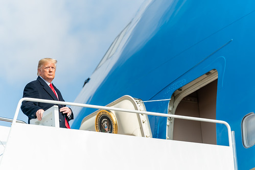 President Trump Departs for Texas by The White House, on Flickr