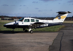 G-GDMW (wiltshirespotter) Tags: bournemouth hurn beech 76