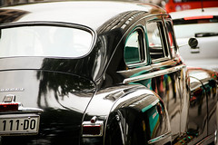 Lagana vožnja (Easy ride) (bgd.boban) Tags: ride dodge classic car downtown reflection