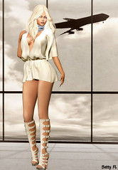 New styling 566 (bettyfl) Tags: betty bettyfl summer night plazza piata square chilly boots legs girl skin fashionista fashionlover fashion model modeling poser pose posing femme milf woman beauty sexy sensual elegant chic opensim hypergrid os hg