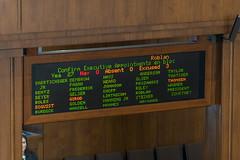 The tally (OregonDOT) Tags: krisstrickler director oregondot oregon people hearing