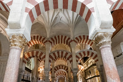 Mosque–Cathedral of Córdoba (MichellePhotos2) Tags: mosque cathedralofcórdoba cathedral córdoba church spain sony rx100 mezquita roman columns gothic arch arches redandwhitevoussoirs red white voussoirs islam
