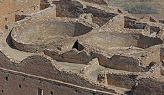 Kivas at Chetro Ketl (Ron Wolf) Tags: anthropology archaeology chacoculturenationalhistoricalpark chacoan nationalpark nativeamerican puebloan architecture desert greathouse kiva structure newmexico explore