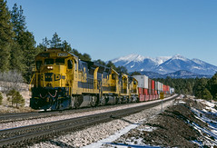 ATSF 7423 West at Chalender, AZ (thechief500) Tags: atsf arizonadivide bnsf railroads seligmansubdivision parks arizona unitedstatesofamerica santaferailway az