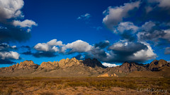 Organ Mountains- Clouds and Shadows (LDMcCleary) Tags:
