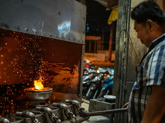 Hotpot Furnace // (Cadicxv8) Tags: fire food hotpot coal chef cook street streetphotography red