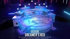 BackBone Dreamer's Bed (BackBone SL) Tags: belle backbone holographic dreamer bed