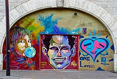 Trilogy (Edgard.V) Tags: paris parigi street art urban urbano callejero murales graffiti c215 portrait retrato ritratto portraiture
