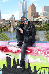 Class of 2020 (Lisa Meadville) Tags: classof2020 seniorshoot colorpark pittsburgh southside rockstar coolkid cityofbridges graffiti streetart