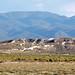 Eolian gypsum sand (Holocene) partially covering White Mountain Rhyolite (Pleistocene, 400 ka) (White Mountain, Black Rock Desert, Utah, USA) 3