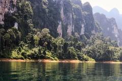 Boat ride through paradise 3 (leewoods106) Tags: khaosok khaosoknationalpark nationalpark cheowlanlake cheowlarnlake green trees vegitation jungle souththailand thailand phangnga asia southeastasia fareast east lake water