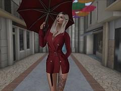 Rainy Day (ivyisla.sl) Tags: secondlife slphotography sl secondlifephotography secondlifestyle slavatar slfashion virtualworld virtualphotography virtualmodel virtualworlds