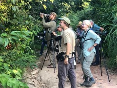 Birders doing what birders do, near Caracari, Roraima, Brazil (Gil Ewing) Tags: birder