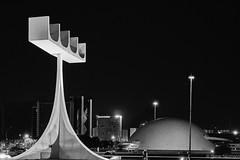 Cathedral (rainerneumann831) Tags: brasília architecture architektur abstract bw blackandwhite rainerneumann831 ©rainerneumann nacht cathedral kathedrale street strase streetphotography candid strasenfotografie monochrome urban riodejaneiro
