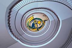 20191120_149c (novofotoo) Tags: bavaria bayern haus hospital krankenhaus mühldorfainn oberbayern profanbau treppe