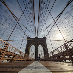 Brooklyn Bridge (Paul Brouns) Tags: new york brooklyn bridge architecture landmark perspective irix lines abstract abstraction paulbrouns paulbrounscom paul brouns photographic art