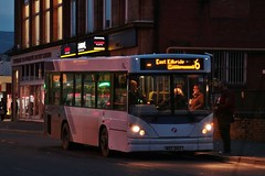 First Glasgow MXZ 2143 (43872)   Route 6   Clydebank Bus Station, W. Dunbartonshire (Strathclyder 2.0) Tags: first glasgow firstglasgow dennis dart slf salvador caetano nimbus silmbus mxz 2143 mxz2143 43872 chalmers street clydebank west dunbartonshire scotland olympiarevised scotstoun caledonia connex jersey j101722 222 firstmidlandred firstworcester firstkernow eg52ffv eg52 ffv