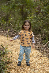 (louisa_catlover) Tags: portrait family child toddler daughter tabby tabitha outdoor garden nature karwarra karwarraaustraliannativebotanicgarden kalorama dandenongs melbourne victoria australia spring