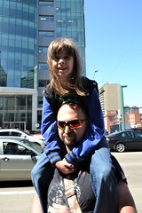 Alex and Rose (Vegan Butterfly) Tags: kid child father dad together family