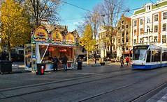 Leidse Bollen (Peter ( phonepics only) Eijkman) Tags: amsterdam city combino gvb oliebollen bollen tram transport trams tramtracks trolley rails rail strassenbahn streetcars netherlands nederland nederlandse noordholland holland