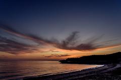 夕暮れ海岸 #1ーTwilight coast #1 (kurumaebi) Tags: yamaguchi 秋穂 山口市 nikon d750 nature landscape 雲 cloud autumn 秋 sky 空 dusk sunset 夕焼け sea beach coast 海岸