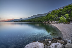 Calmness of morning (Sizun Eye) Tags: morning calmness serenity peaceful quiet quietness puntarata brela croatia beach adriatic pins sizuneye sonyfe1635mmf28gm sony7rm2 sony sonyalpha sonyalpha7rmii longexposure le nisifilters dalmatia