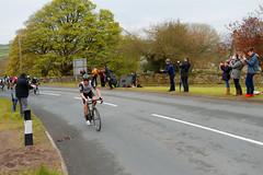 CLIMBING ALONE (skysthelimit333) Tags: tourdeyorkshire cyclist flyingthorpe robinhoodsbay bike