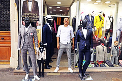 Raoul (kirstiecat) Tags: paris design style shop window mannequin person portrait human street canon france europe man homme funny