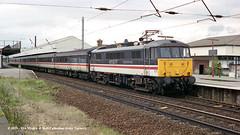 15/07/1997 - Warrington (Bank Quay), Cheshire. (53A Models) Tags: virginwestcoast al6 class86 86244 theroyalbritishlegion electric passenger warrington arpley cheshire train railway locomotive railroad