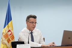 Roda de premsa.Igualtat i Participació Ciutadana.21-11-2019 (Govern d'Andorra) Tags: andorra participacióciutadana pons premsa