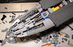 UCS MC75 017 (Commander Keller) Tags: star wars lego ucs raddus admiral rebel alliance mon calamari 75 mc cruiser space ship battle rogue one episode 9 rise skywalker