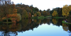 Iconic view (myraemery) Tags: national trust stourhead wiltshire uk water walking views visit reflections lake trees stour temple hercules palladian bridge pantheon canoneos70d