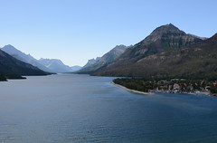 Waterton Lakes (the factory wall) Tags: waterton lakes nationalpark alberta canada cans2s rocky mountains